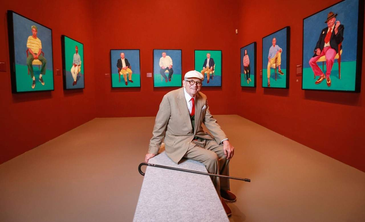 David Hockney NGV Melbourne Australia Exhibition