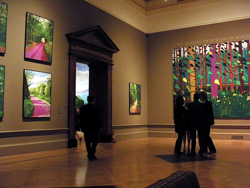 David Hockney RA London Royal Academy