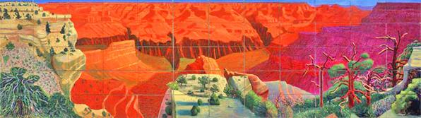 Hockney A Bigger Grand Canyon 1998