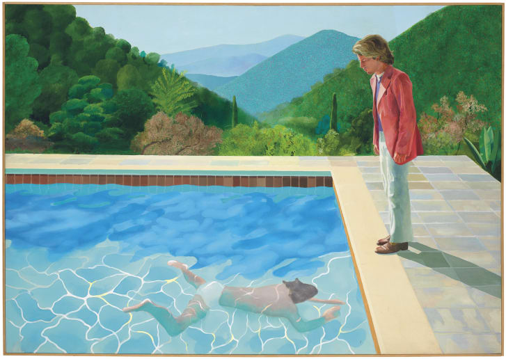 Hockney Pool Figures 1972