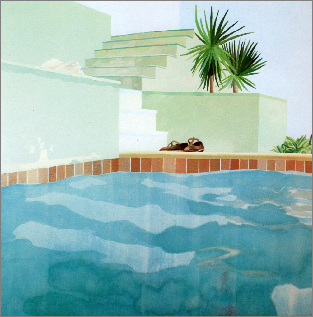 Les Piscines of David Hockney