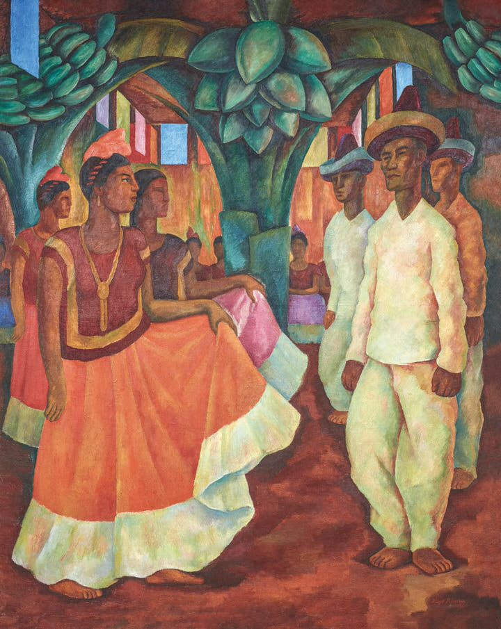Diego Riveras Dance in Tehuantepec 1928.Credit 1