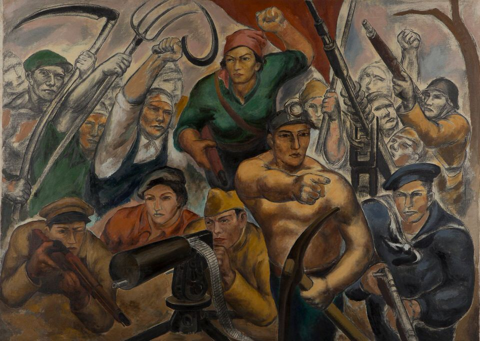 Eitaro Ishigakis Soldiers of the Peoples Front The Zero Hour circa 1936 37. 1