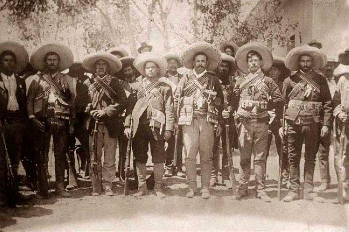 Pancho Villa and his Troops