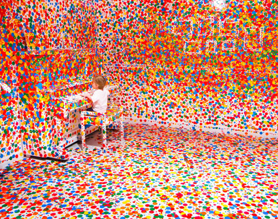yayoi kusama look now see forever