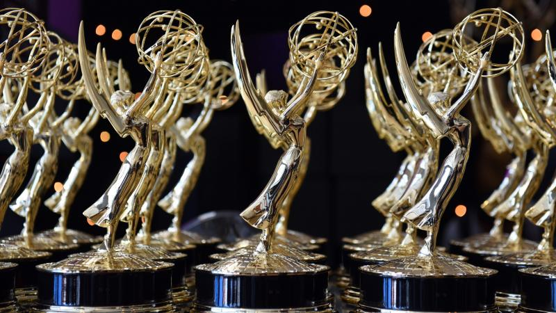 Emmy Statues Multiple
