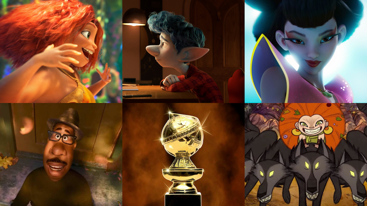 78th Golden Globes ANIMATION