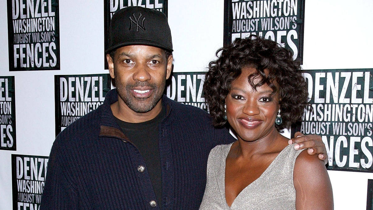 Viola Davis and Denzel Washington Fences