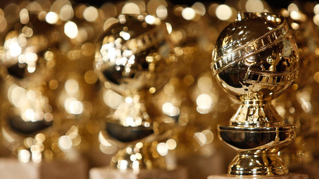 golden globe awards close up