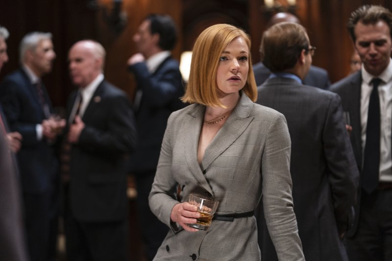 Sarah Snook as Shiv Roy