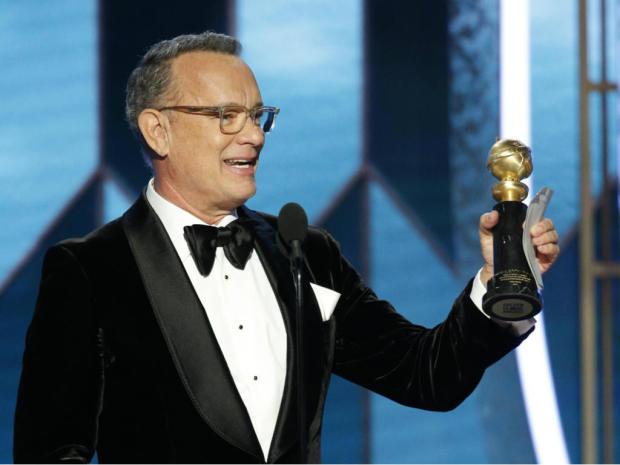 tom hanks golden globes 2020