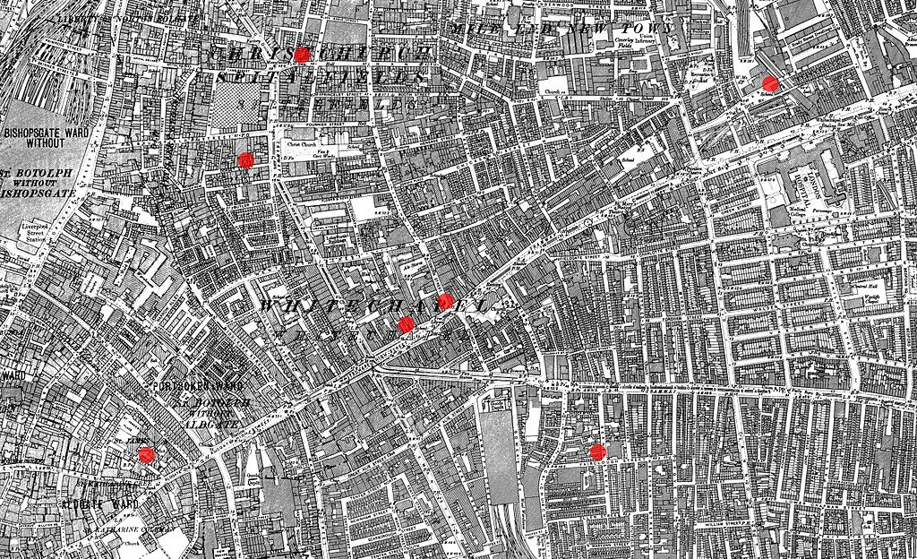 Whitechapel first 7 murders