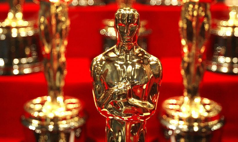 Oscars trophies t