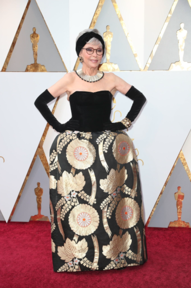 Rita Moreno Used the Same Dress as in West Side Story