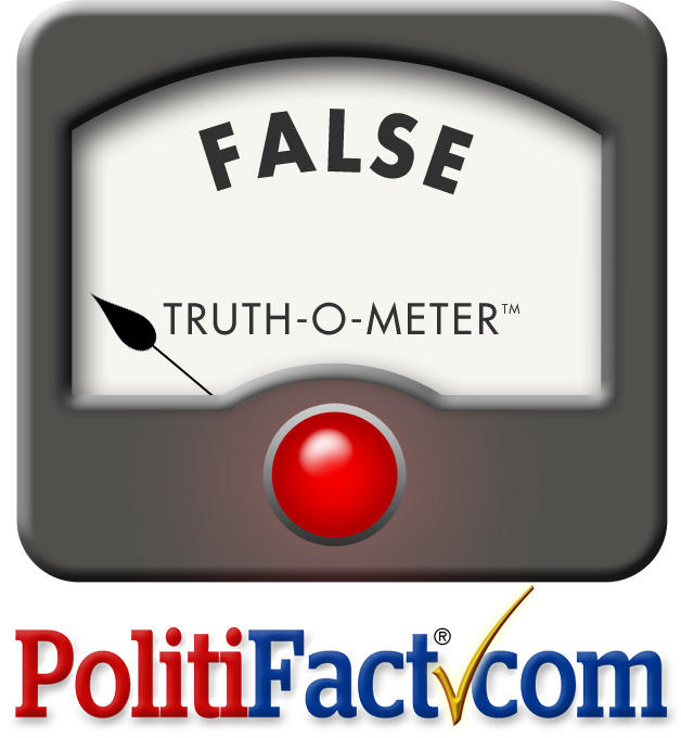 politifact false