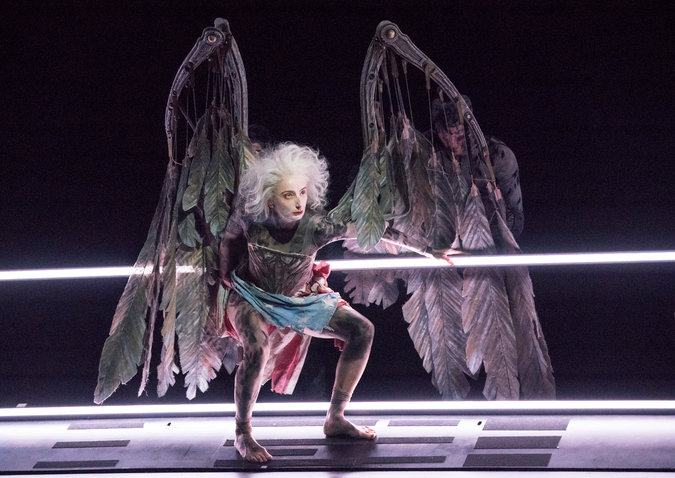 Amanda Lawrence as the Angel in Perestroika