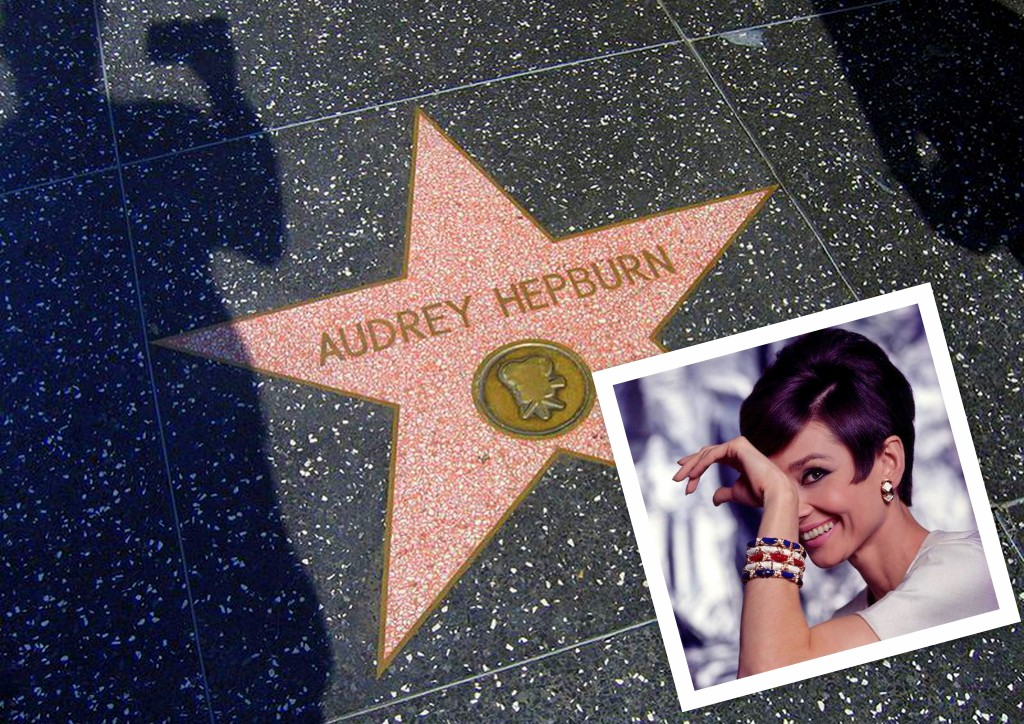 Audrey Hepburn Hollywood Star