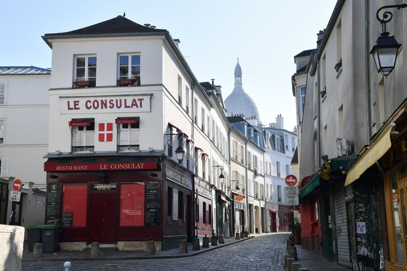 Pariss famous Montmartre neighborhood