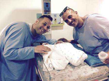 Israel_Gay_Couple_with_Their_New_Baby_Born_in_Nepal