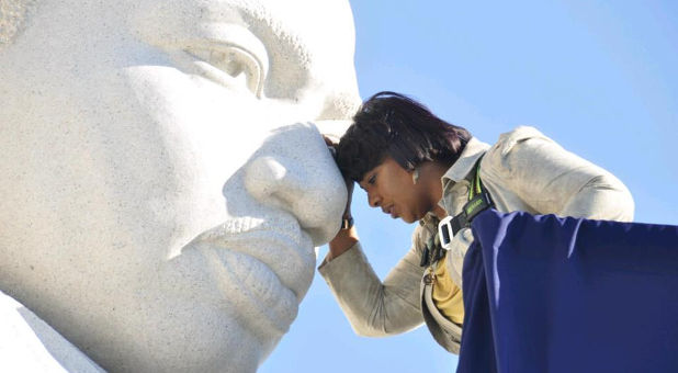 MLK monument Bernice King