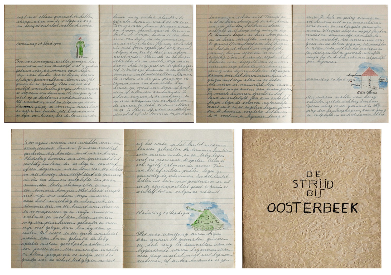 Diary 2 WWII Pages oosterbeek single page.001