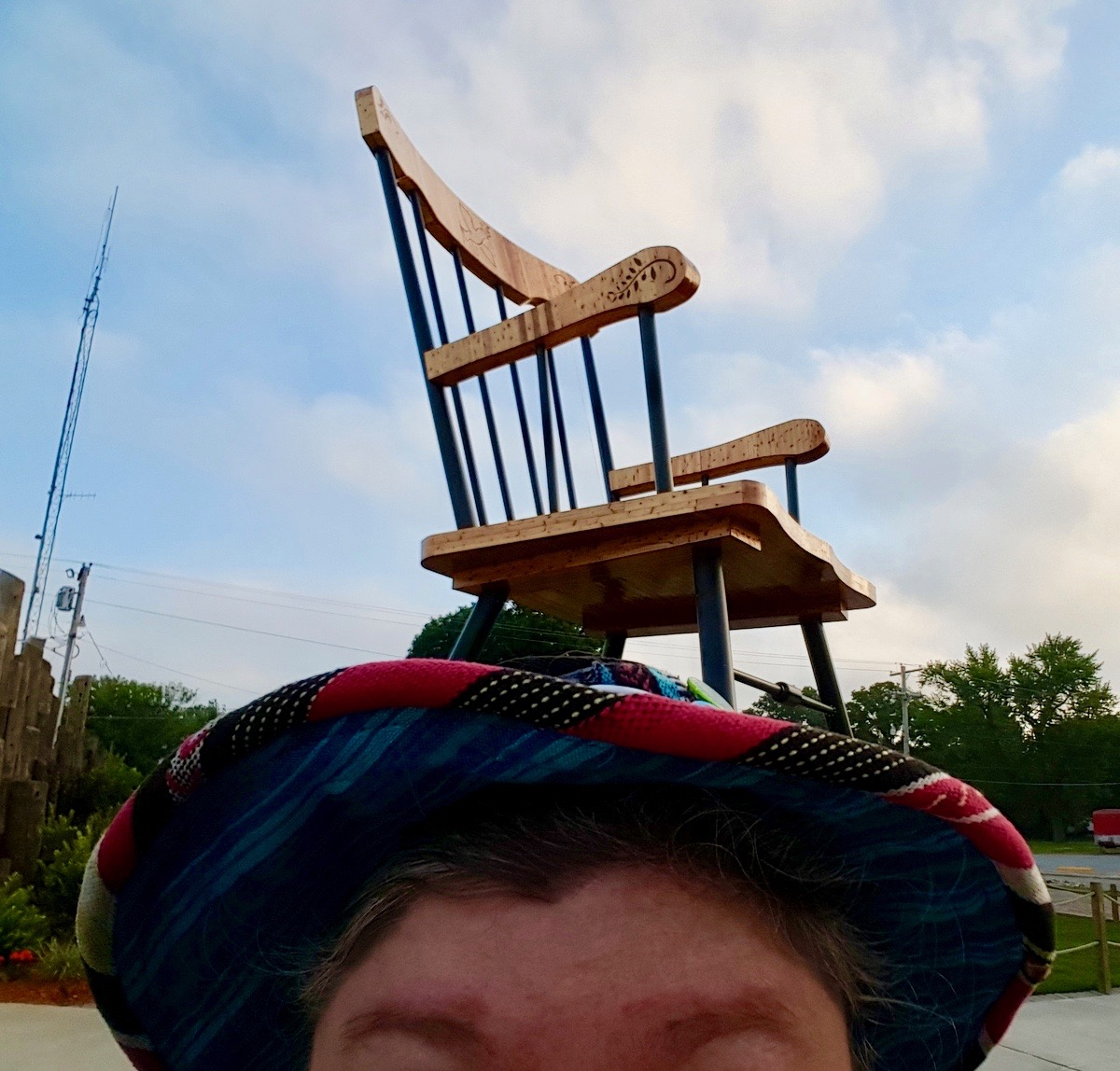 hat and rocking chair copy