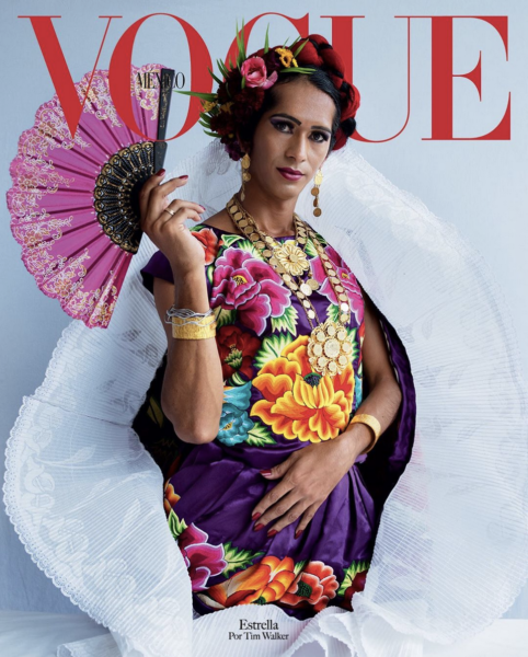 Vogue Mexico to use third gender cover model for the first