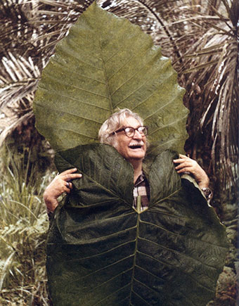 Roberto Burle Marx Dressed in Leafs