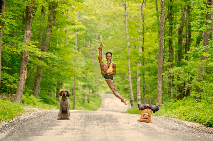 Michaela DePrince Leg Up Road
