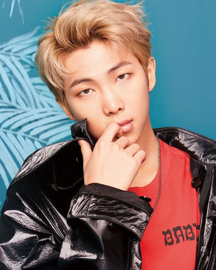 RM Kim Nam joon Rapper and Leader 24