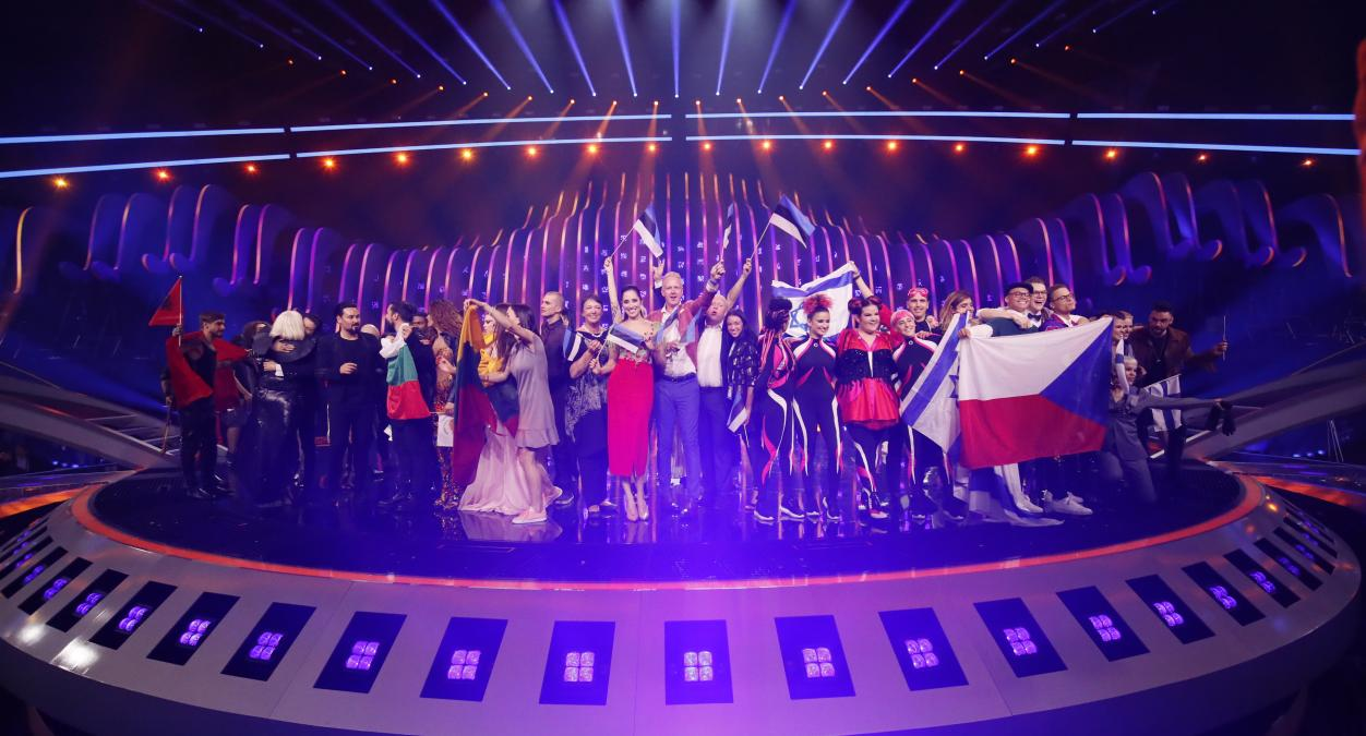 10 finalist countries from the First Semi Final