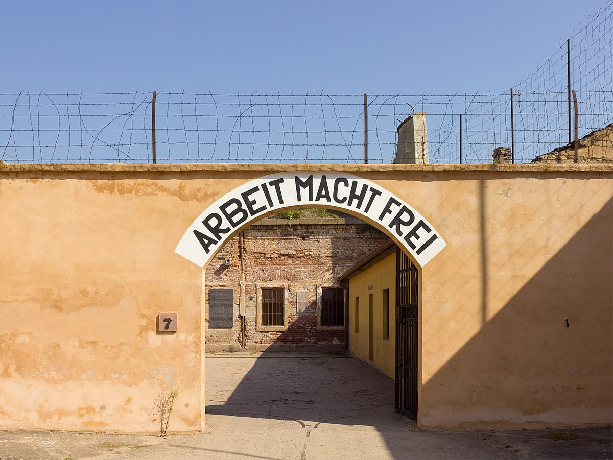 Czech concentration camp Theresienstadt