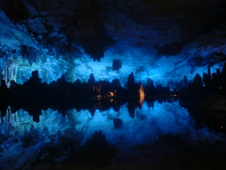 ethereal Reed Flute Cave in China
