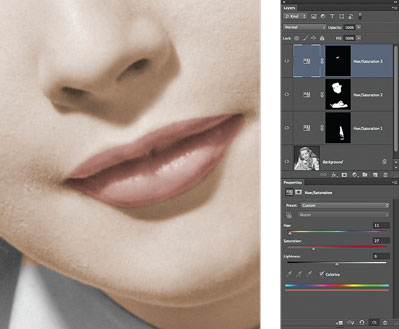 Lips Colorized