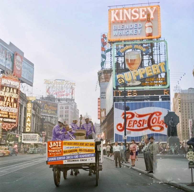 Times Square 1947
