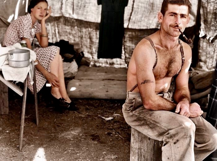 Unemployed Lumber Worker 1939