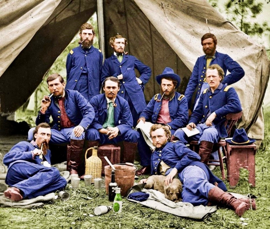 Union Soldiers 1863