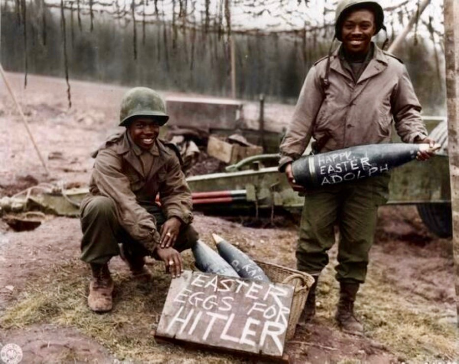 WWII Soldiers on Easter