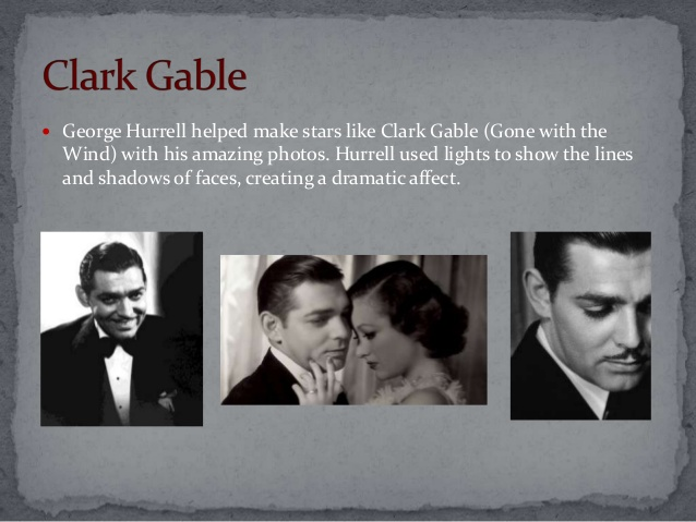 Clark Gable collage