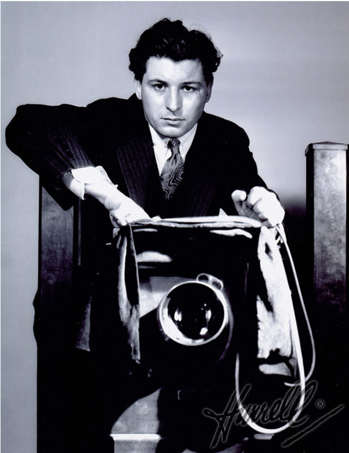 George Hurrell with Camera 1