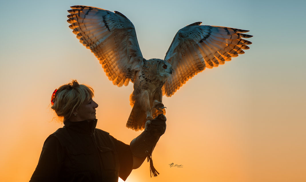 Tanja Brandt and Eagle