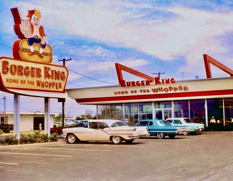 Burger King in the 1960s was a lot different than the Burger King of today