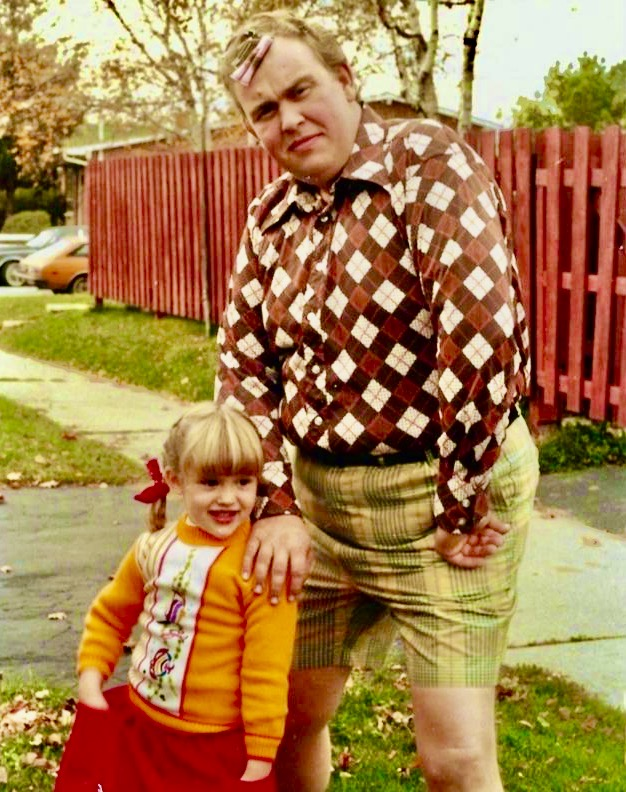 John Candy with his daughter Jennifer in 1983