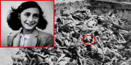 Death of Anne Frank