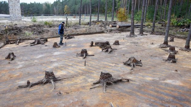 Sobibor Excavation site Nazis Tried to Bury in 1943