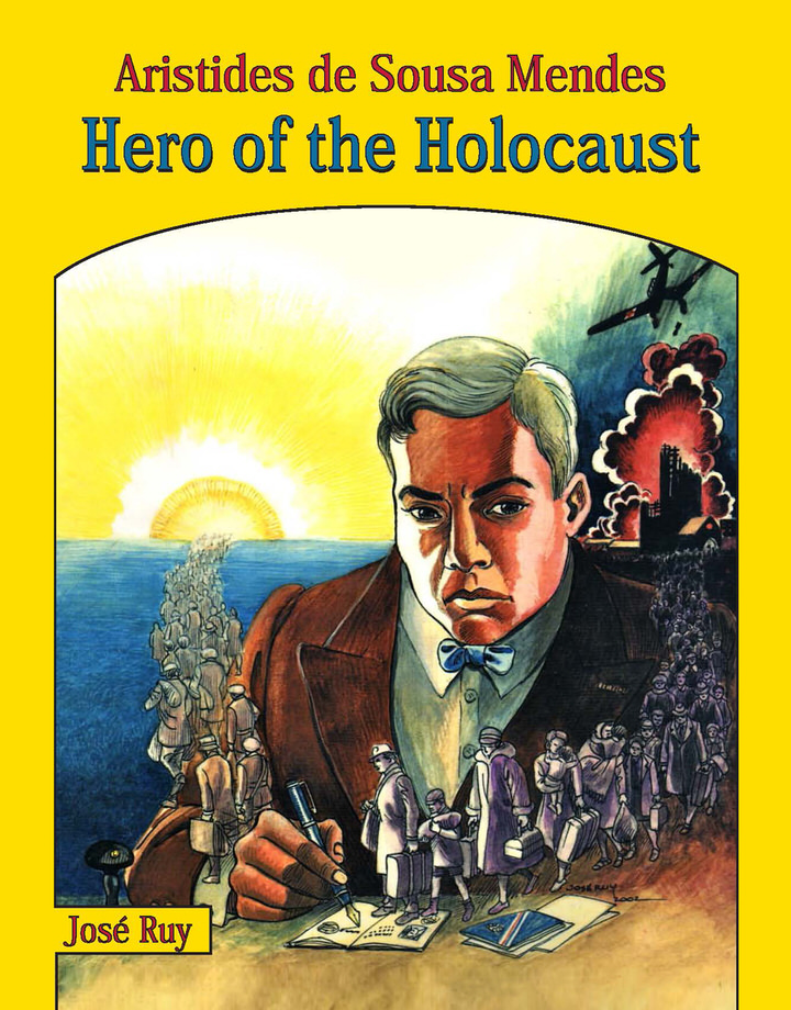 Hero of the Holocaust Book Cover 1