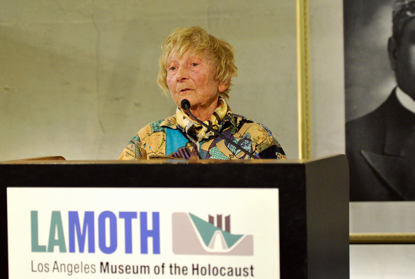 Lissy Jervik at LA Holocaust Museum