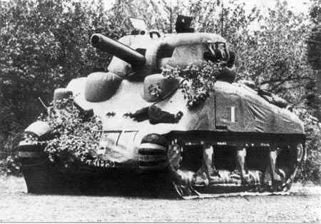 inflatable Dummy Sherman Tank