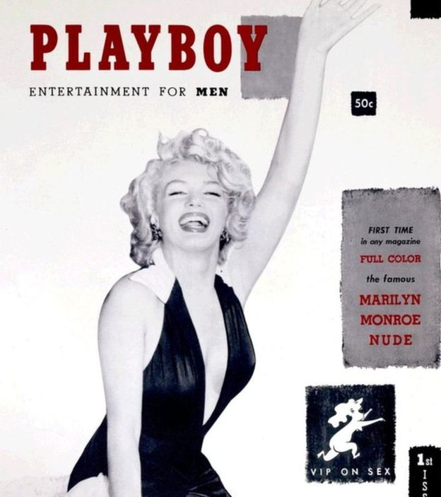 Marilyn Monroe first cover of Playboy