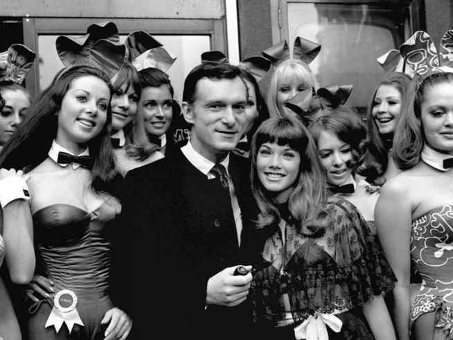 hugh w bunnies bw